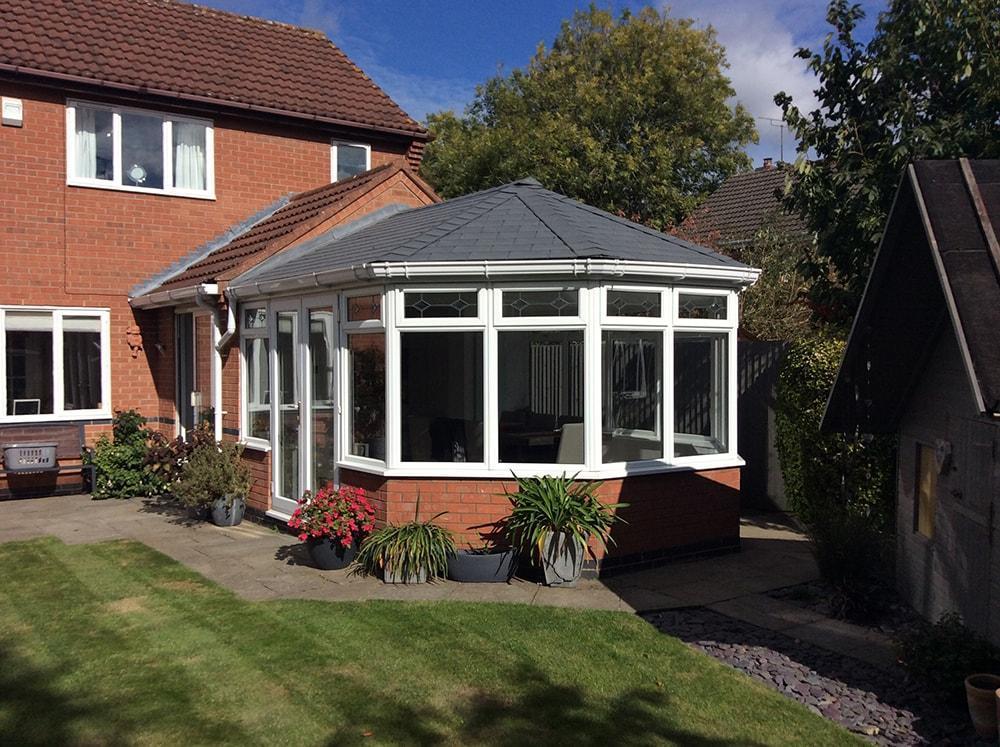 Solid Roof Harveys Windows